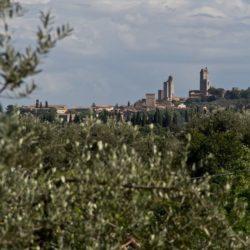 Vue de San Gimignano